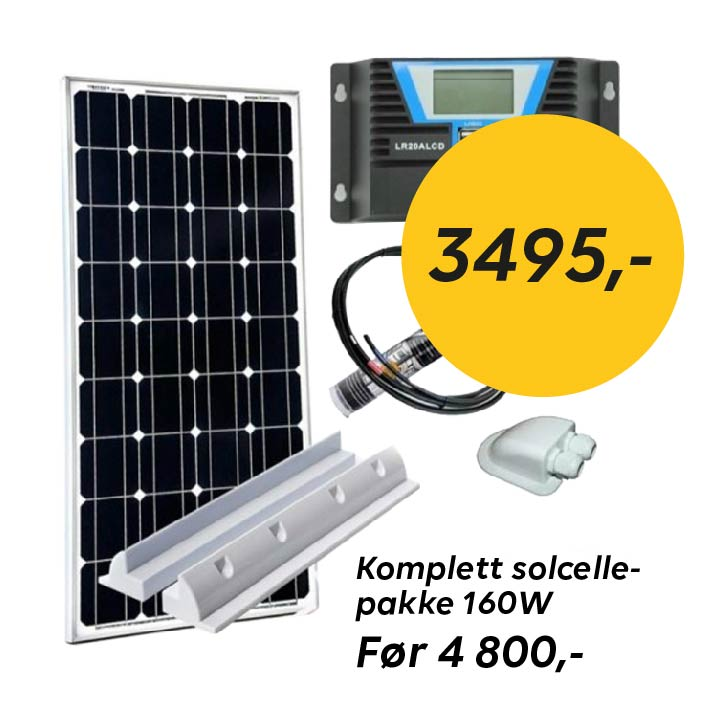 Sommerkampanje solcellepakke Ferda
