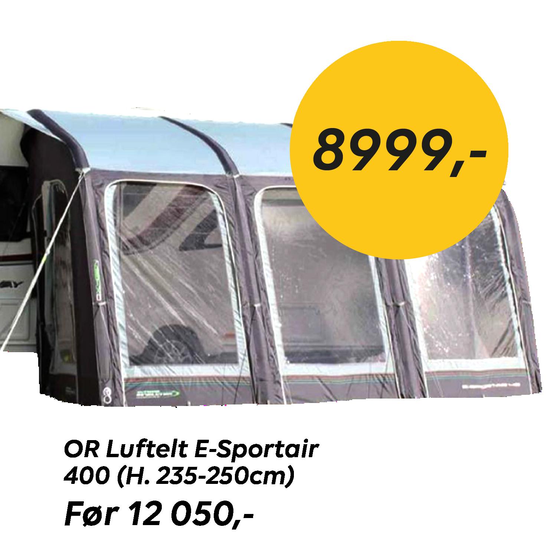 Sommerkampanje OR Luftelt E-Sportair 400 (H. 235-250cm)